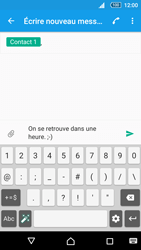 Sony Xperia Z5 - Contact, Appels, SMS/MMS - Envoyer un SMS - Étape 9