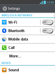 LG E430 Optimus L3 II - Network - Usage across the border - Step 4