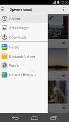 Huawei Ascend P7 - MMS - afbeeldingen verzenden - Stap 13