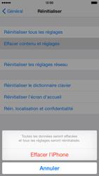 Apple iPhone 6 iOS 8 - Aller plus loin - Restaurer les paramètres d'usines - Étape 6