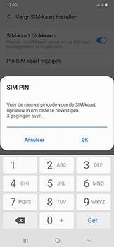 Samsung galaxy-a50-dual-sim-sm-a505fn - Beveiliging en ouderlijk toezicht - Hoe wijzig ik mijn SIM PIN-code - Stap 11