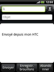 HTC A3333 Wildfire - E-mail - envoyer un e-mail - Étape 4