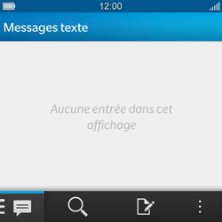 BlackBerry Q10 - Contact, Appels, SMS/MMS - Envoyer un MMS - Étape 3