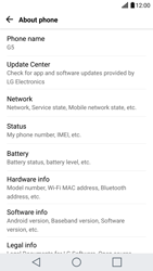 LG G5 - Android Nougat - Network - Installing software updates - Step 6