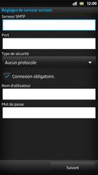 Sony LT26i Xperia S - E-mail - Configuration manuelle - Étape 11