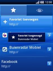 Sony Ericsson Xperia X10 Mini - Internet - Hoe te internetten - Stap 11