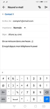 Huawei P30 Pro - E-mail - envoyer un e-mail - Étape 9