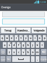 LG E430 Optimus L3 II - E-mail - Handmatig instellen - Stap 8