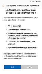 Samsung Galaxy J3 (2017) - E-mail - Configuration manuelle (outlook) - Étape 8