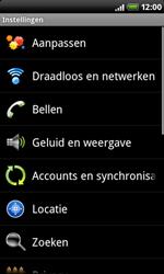 HTC A8181 Desire - Internet - aan- of uitzetten - Stap 4