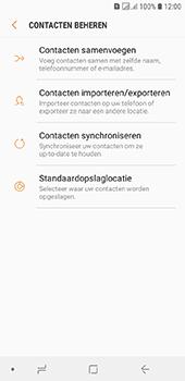 Samsung galaxy-j6-sm-j600fn-ds - Contacten en data - Contacten kopiëren van toestel naar SIM - Stap 6