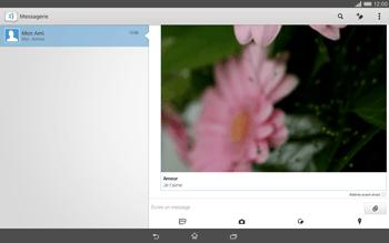 Sony Xperia Tablet Z2 (SGP521) - MMS - envoi d'images - Étape 18