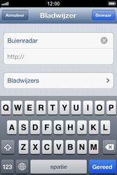 Apple iPhone 4 (iOS 6) - internet - hoe te internetten - stap 11