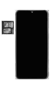 Samsung Galaxy A40 - Appareil - comment insérer une carte SIM - Étape 3