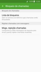Samsung Galaxy A3 A310F 2016 - Chamadas - Como bloquear chamadas de um número -  7