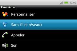 HTC A810e ChaCha - Wifi - configuration manuelle - Étape 3