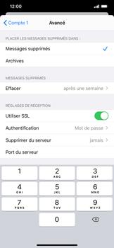 Apple iPhone XR - iOS 13 - E-mail - Configuration manuelle - Étape 23