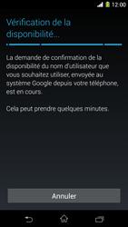 Sony Xpéria Z1 - Premiers pas - Créer un compte - Étape 12