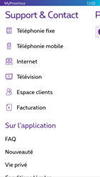 Nokia Lumia 830 - Applications - MyProximus - Étape 22