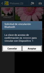 Samsung S7580 Galaxy Trend Plus - Bluetooth - Transferir archivos a través de Bluetooth - Paso 13