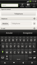 HTC One S - Contact, Appels, SMS/MMS - Ajouter un contact - Étape 7