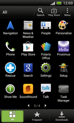 HTC T328e Desire X - Applications - Downloading applications - Step 3