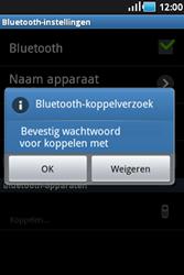 Samsung S5830 Galaxy Ace - Bluetooth - Headset, carkit verbinding - Stap 7