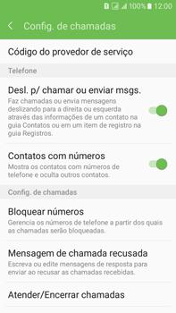 Samsung Galaxy On 7 - Chamadas - Como bloquear chamadas de um número específico - Etapa 7