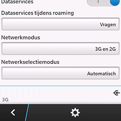 BlackBerry Q10 - Buitenland - Bellen, sms en internet - Stap 7