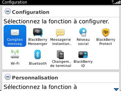 BlackBerry 9320 Curve - E-mail - Configuration manuelle - Étape 4