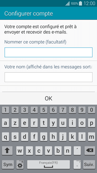 Samsung N910F Galaxy Note 4 - E-mail - Configuration manuelle - Étape 18