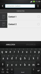 HTC One Mini - Contacten en data - Contacten kopiëren van SIM naar toestel - Stap 8
