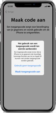 Apple iPhone X - Instellingen aanpassen - Activeer het toestel en herstel jouw iCloud-data - Stap 14