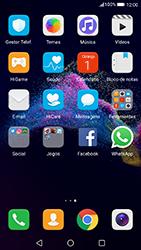 Huawei P8 Lite (2017) - Aplicações - Como configurar o WhatsApp -  4
