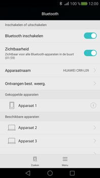 Huawei Mate S - Bluetooth - koppelen met ander apparaat - Stap 9