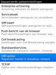 BlackBerry 9810 Torch - Instellingen - configuratiebericht ontvangen - Stap 6