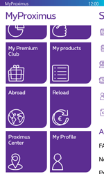 Nokia Lumia 530 - Applications - MyProximus - Step 20