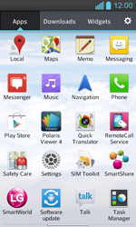 LG Optimus L7 II P710 - Internet - Enable or disable - Step 3