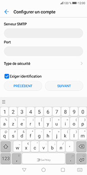 Huawei P Smart - E-mail - Configuration manuelle - Étape 14