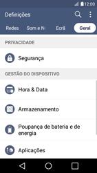 LG K4 - Segurança - Como ativar o código PIN do cartão de telemóvel -  5