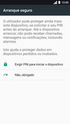 Motorola Moto C Plus - Segurança - Como ativar o código de bloqueio do ecrã -  7