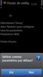 Nokia C7-00 - Internet - configuration automatique - Étape 7