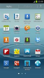 Samsung I9300 Galaxy S III - Bluetooth - Transferir archivos a través de Bluetooth - Paso 3