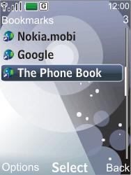 Nokia 7210 supernova - Internet - Internet browsing - Step 11