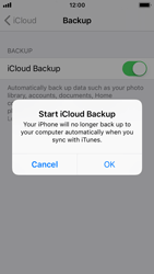 Apple iPhone SE - iOS 11 - Device maintenance - Create a backup of your data - Step 11