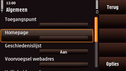 Nokia N97 Mini - Internet - Handmatig instellen - Stap 23