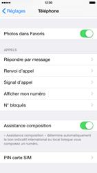 Apple iPhone 6 iOS 8 - Sécuriser votre mobile - Personnaliser le code PIN de votre carte SIM - Étape 4