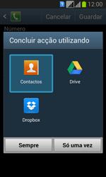 Samsung Galaxy Fresh Duos - Chamadas - Como bloquear chamadas de um número -  12