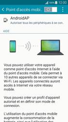 Samsung Galaxy A3 (A300FU) - Internet et connexion - Partager votre connexion en Wi-Fi - Étape 6