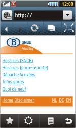 Samsung S8000 Jet - Internet - navigation sur Internet - Étape 11